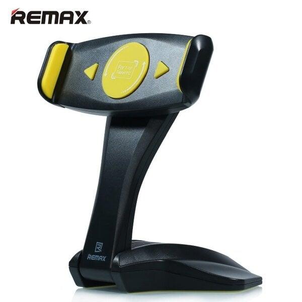 Remax RM-C16 Universāls 7 - 15 collu Planšetdatoru / iPad Pro Galda Statīvs Stiprinājums (157-260 mm fix) Melns cena un informācija | Somas, aksesuāri | 220.lv