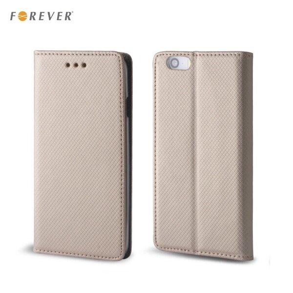 Forever Чехол-книжка с магнитной фиксацией для мобильного телефона Sony Xperia XA, Золотистый