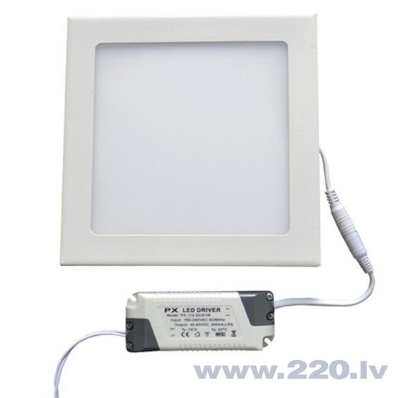 LED panelis LEDlife, 24W (silta balta)
