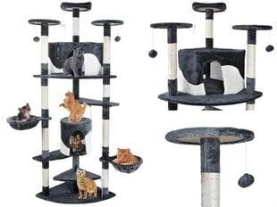 Kaķu māja ar nagu asināmo Kitty 200 cm cena un informācija | Nagu asināmie kaķiem | 220.lv