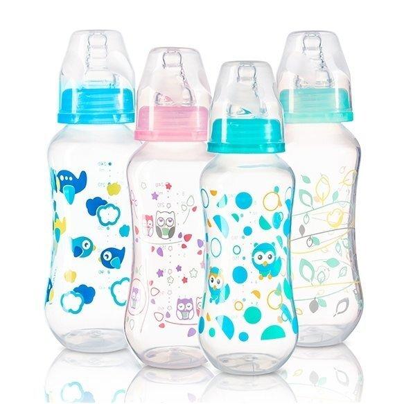 Pudele, kas neizraisa kolikas, standarta, 240 ml BabyOno 401, 1 gab. cena un informācija | Bērna barošana | 220.lv