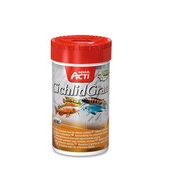 "Корм для цихлид  Aquael ""CichlidGran""  (гранулы), 250мл"