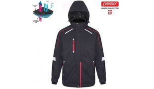 Теплая куртка Pesso Tampere, черная