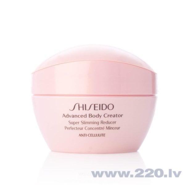 Slaidinošs pretcelulīta gēls Shiseido Advanced Body Creator Super Slimming Reducer 200 ml cena un informācija | Ādas tvirtumam | 220.lv