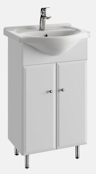 Vannas istabas skapis ar izlietni 5002 D50 cena un informācija | Vannas istabas mēbeles | 220.lv