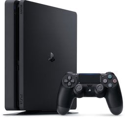 Sony Playstation 4 Slim 500GB Black (Черная) цена и информация | Sony Playstation 4 Slim 500GB Black (Черная) | 220.lv