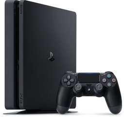 Sony Playstation 4 Slim 500GB Black (Черная)