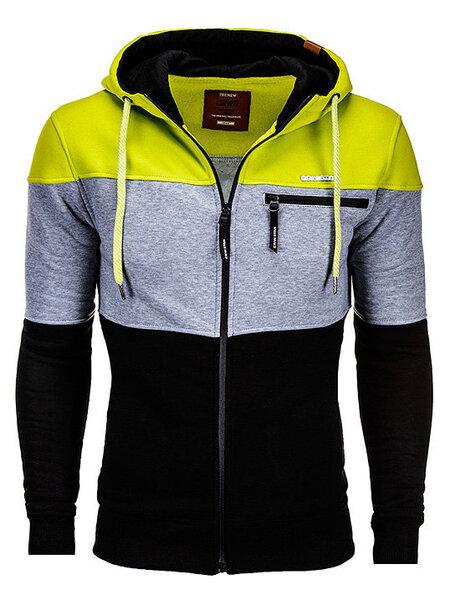 Vīriešu jaka cena un informācija | Vīriešu hoodie jakas | 220.lv
