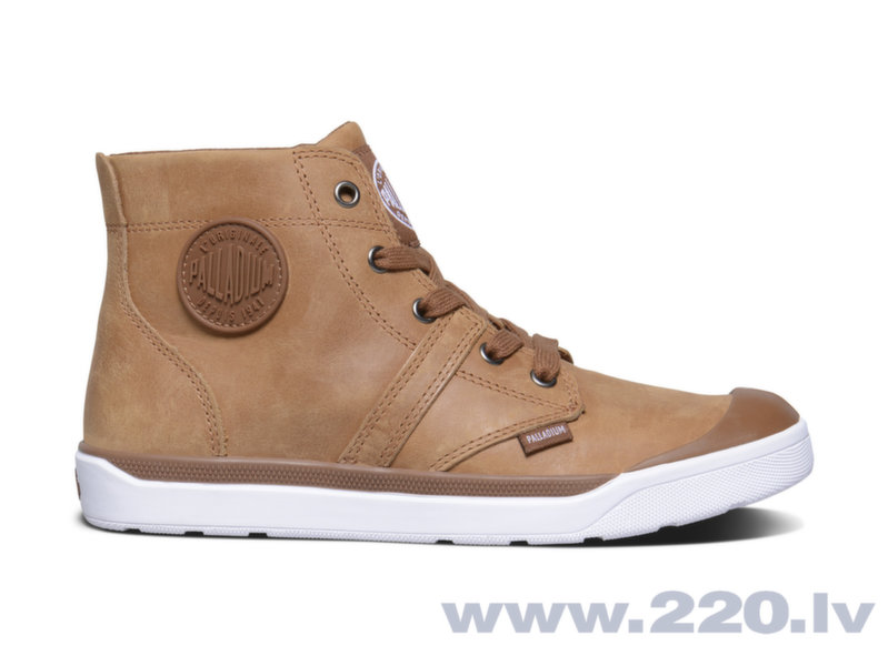 Sieviešu apavi Palladium Pallarue Hi Leather cena un informācija | Zābaki, puszābaki | 220.lv