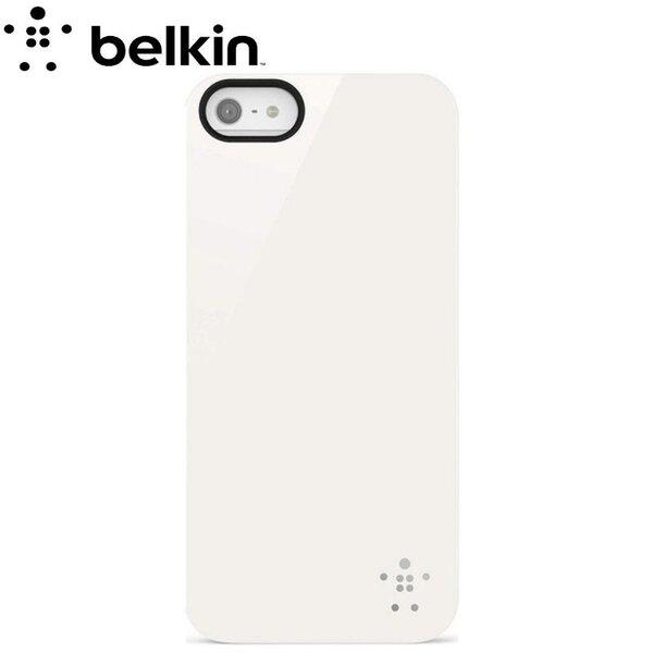 Belkin F8W196vfC01 Супер Тонкий Пластмассовый чехол-крышка Apple iPhone 5 / 5S / iPhone SE Белый цена и информация | Maciņi, somiņas | 220.lv