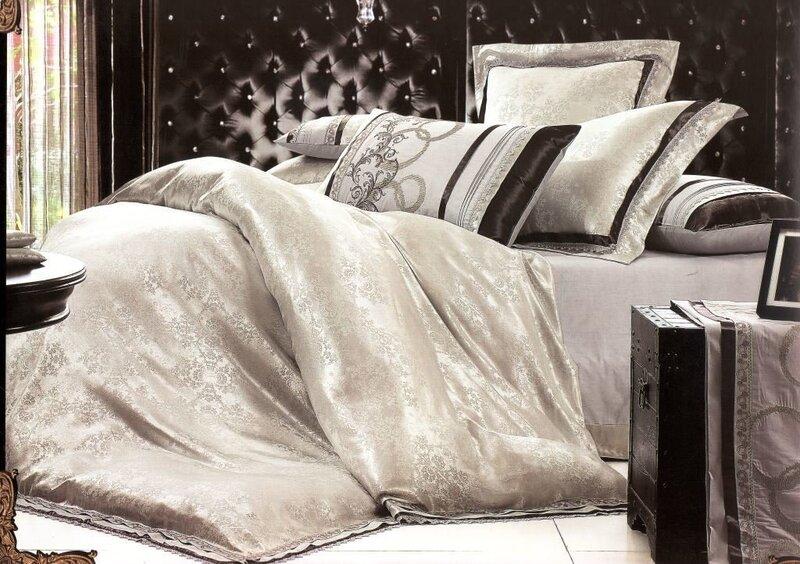 Satina gultas veļas komplekts 4 daļas cena un informācija | Gultas veļas komplekti | 220.lv