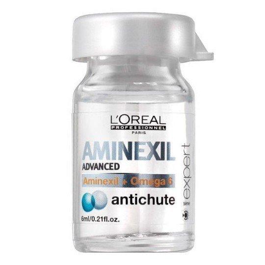 Līdzeklis pret matu izkrišanu L'Oreal Professionnel Paris Serie Expert Aminexil Advanced 6 ml cena un informācija | Matu uzlabošanai | 220.lv