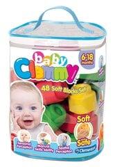 Klucīši Clementoni Clemmy Baby, 48 gab. cena un informācija | Rotaļlietas zīdaiņiem | 220.lv