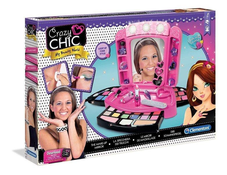 Kosmētikas komplekts Clementoni Make-Up Studio cena un informācija | Lomu spēles | 220.lv