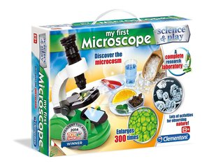 Bērnu mikroskops Clementoni Science&Play: My First Microscope