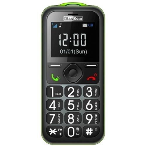 Maxcom MM560BB Black/Green ENG цена и информация | Mobilie telefoni | 220.lv