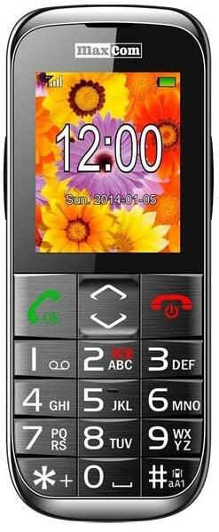 Maxcom MM720BB Black ENG цена и информация | Mobilie telefoni | 220.lv