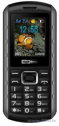 MAXCOM MM901 Dual Grey/Black ENG цена и информация | Mobilie telefoni | 220.lv