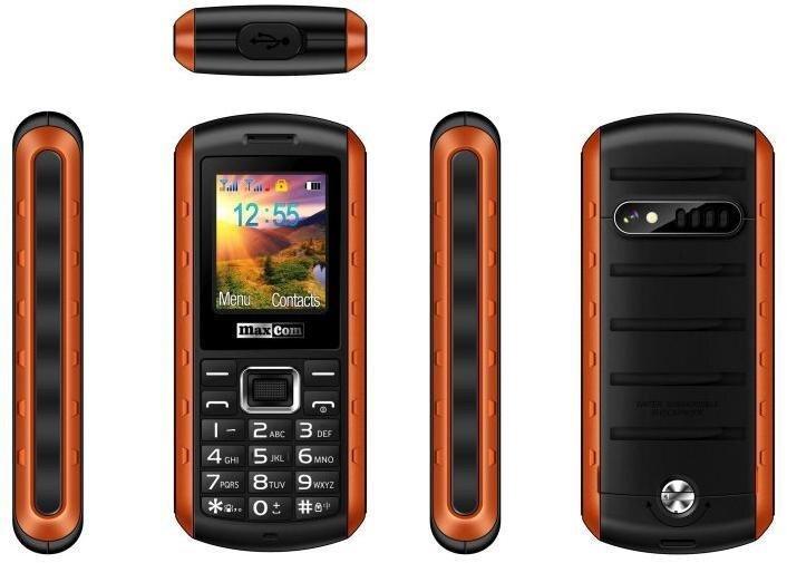 MAXCOM Strong MM901 Dual Black ENG cena un informācija | Mobilie telefoni | 220.lv