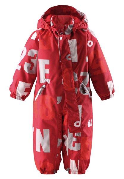 Kombinezons Reima Nappaa, 74-92 cm, sarkans cena un informācija | Apģērbs zīdaiņiem/bērniem | 220.lv