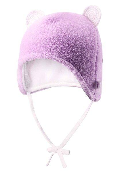 Cepure Reima Leo, 36-44 cm, rozā cena un informācija | Apģērbs zīdaiņiem/bērniem | 220.lv