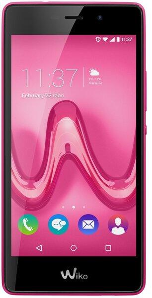 Wiko Tommy LTE Pink cena un informācija | Mobilie telefoni | 220.lv