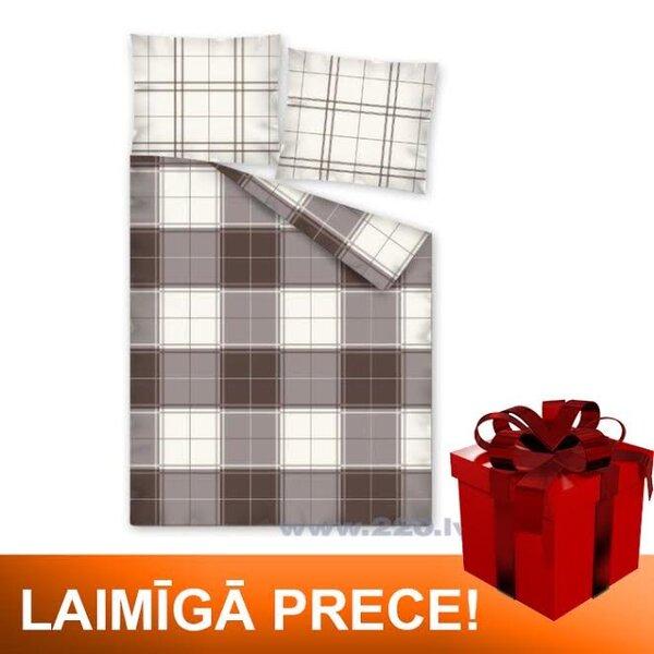 Gultas veļas komplekts, 3 daļas (160x200 cm) cena un informācija | Gultas veļas komplekti | 220.lv