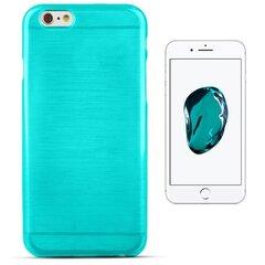 Forcell Jelly Brush Perlamutra telefona silikona apvalks Apple iPhone 7 (4.7inch) Zils cena un informācija | Maciņi, somiņas | 220.lv