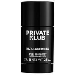 Дезодорант Karl Lagerfeld Private Klub 75 мл