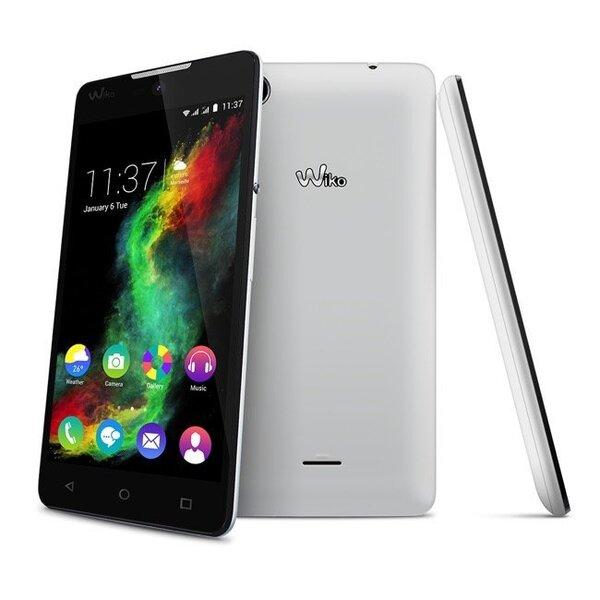 Wiko Rainbow Lite Dual White cena un informācija | Mobilie telefoni | 220.lv
