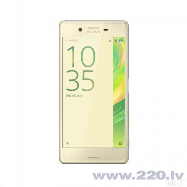 Sony Xperia X Performance (F8131) LTE Gold (Lime Gold) цена и информация | Mobilie telefoni | 220.lv