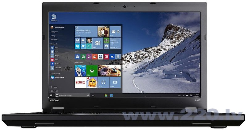 Lenovo ThinkPad L560 (20F10032MH) Win10 Pro cena un informācija | Portatīvie datori | 220.lv