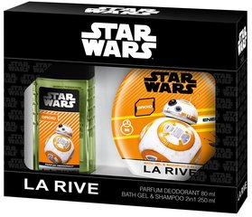 Komplekts La Rive Star Wars Droid: edt 50 ml + dušas želeja-šampūns 250 ml