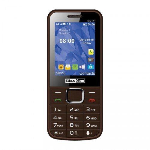 MAXCOM MM141 Brown Dual ENG цена и информация | Mobilie telefoni | 220.lv