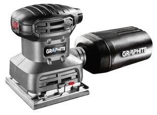 Orbitālā slīpmašīna Graphite 59G320 cena un informācija | Orbitālā slīpmašīna Graphite 59G320 | 220.lv