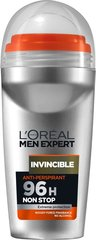 Dezodorants L'Oreal Paris Men Expert Invincible 50 ml