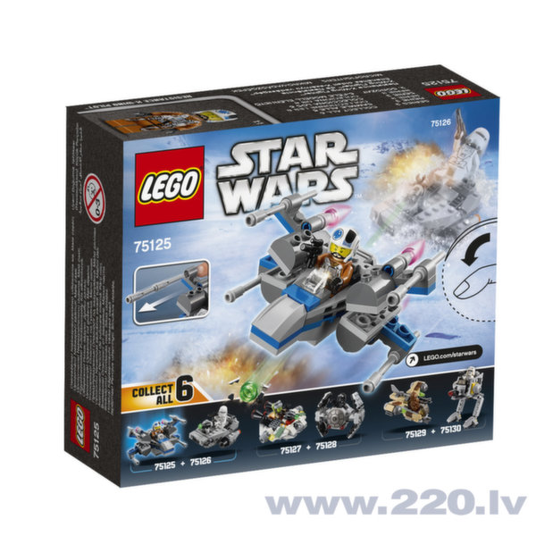 Конструктор LEGO™ Star Wars Resistance X-Wing Fighter 75125 цена и информация | LEGO | 220.lv