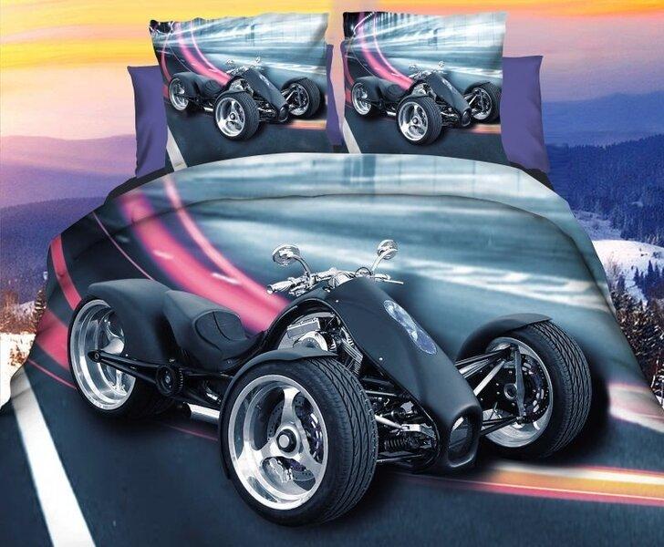 Комплект постельного белья 3D, 3 части цена и информация | Gultas veļas komplekti | 220.lv