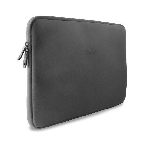 "Portatīva datora soma PURO Clever Sleeve 15"" Gray (Pelēka)"