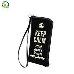 Universāls maisiņš GreenGO Flexi Zipper (8x14cm) Keep Calm