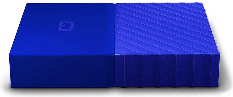 WD My Passport 2.5'' 2TB USB 3.0 Blue