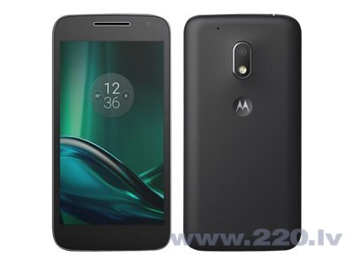 Motorola Moto G4 Play DUAL 16GB Black (Черный) цена и информация | Mobilie telefoni | 220.lv