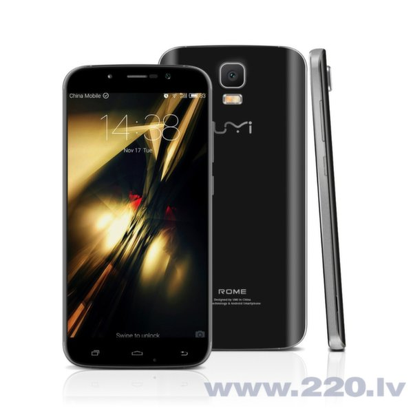 UMI Rome Dual LTE Black cena un informācija | Mobilie telefoni | 220.lv