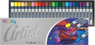 Eļļas pasteļkrītiņi Colorino Artist, 24 krāsas cena un informācija | Kancelejas preces | 220.lv