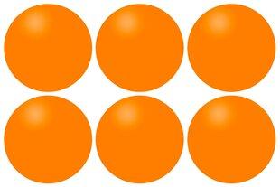 Мячики для настольного тенниса GET AND GO, оранжевые, 6 шт.