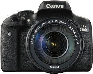 Canon EOS 750D + 18-135 mm IS STM Kit