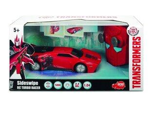 Radiovadāmā mašīna Transformers Turbo Racer Sideswipe