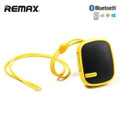 Skaļrunis Remax RB-X2MI / Bluetooth 3.0 + FM radio + microSD Dzeltens