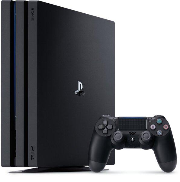 PlayStation4 Pro 1TB A Chassis Black/EAS cena un informācija | Spēļu konsoles | 220.lv