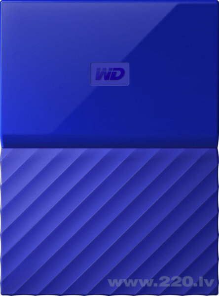 "WD My Passport 2.5"" 3TB USB 3.0 Blue"
